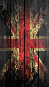 UK Wood Flag