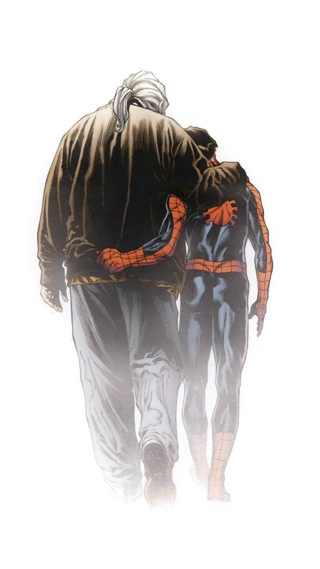 Comics / Ultimate Spider-Man (640x960) Mobile Wallpaper