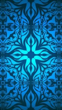 Vintage Blue Pattern