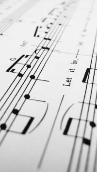 White Music Symbols