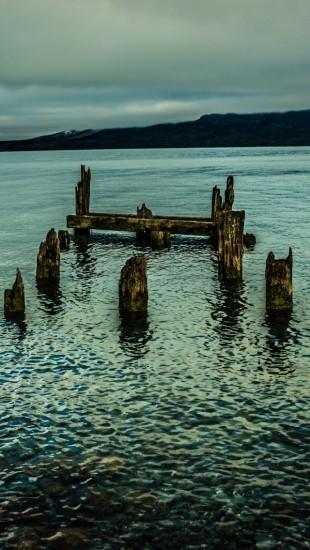 Wooden Piles