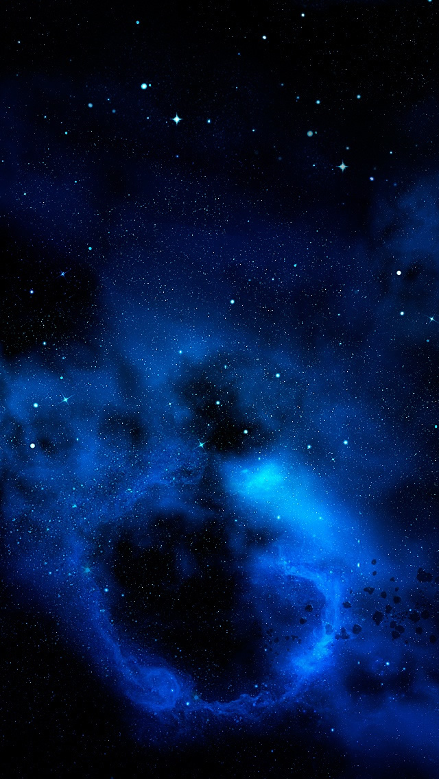 Blue Cloud The Iphone Wallpapers