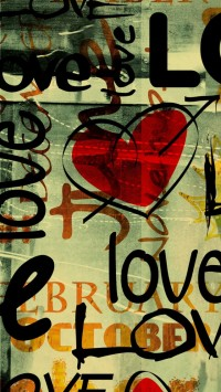 Love Written In Graffiti