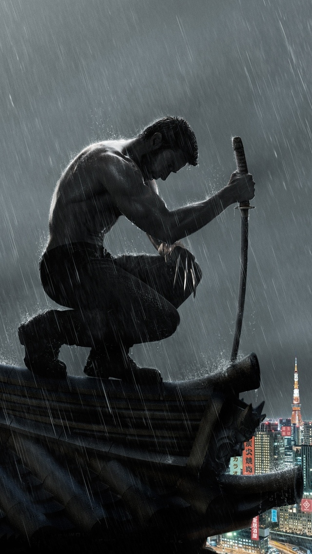 the wolverine the iphone wallpapers