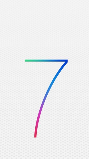 Apple iOS 7 Logo