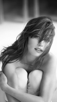 Beautiful Woman Grayscale