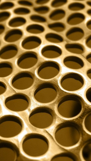 Metal Background Grid Circles Texture