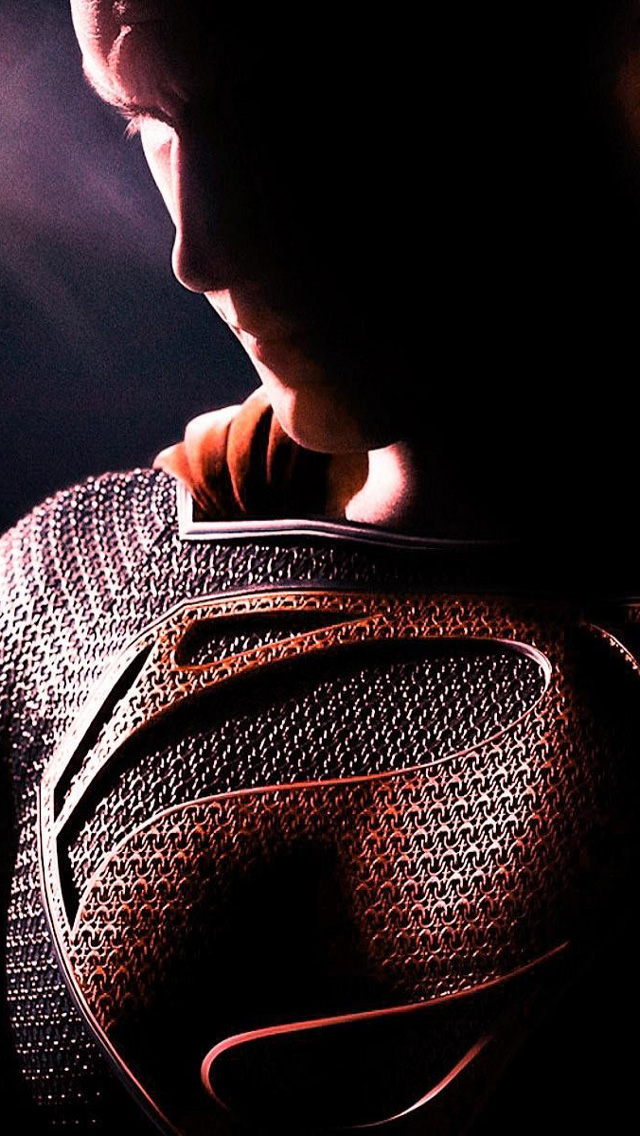 Superman man of steel the iphone wallpapers - Wallpaper superman man of steel ...
