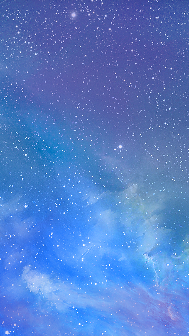 ios7 galaxy the iphone wallpapers