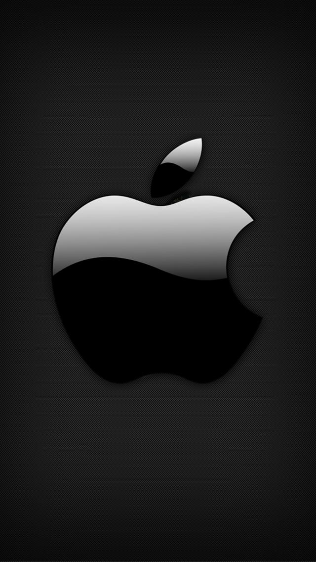 IPhone Wallpaper Tags AppleBlackLogo Apple Black