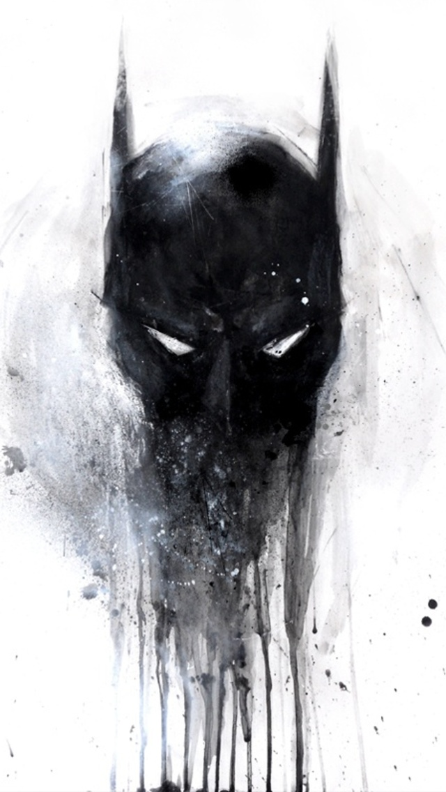 Batman Painting The Iphone Wallpapers