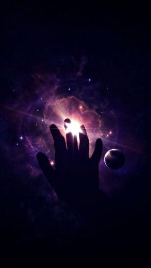 Hand Light Planet