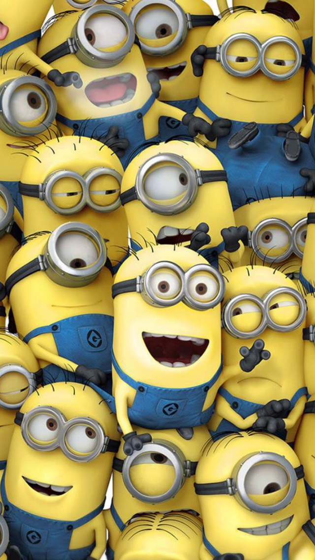 Minions Love Wallpaper For Iphone : Minions Despicable Me - The iPhone Wallpapers