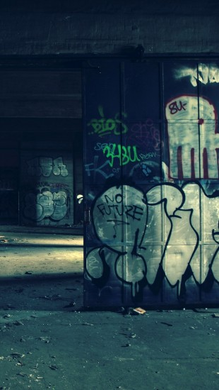 Warehouse Graffiti