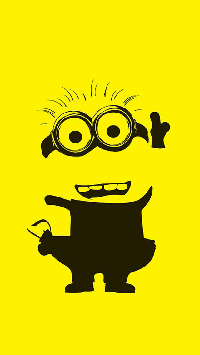 Yellow Minion The Iphone Wallpapers