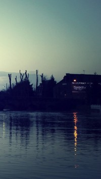 Beautiful Evening River