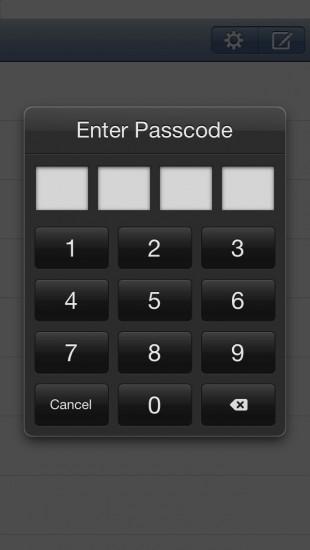 Lock Passcode