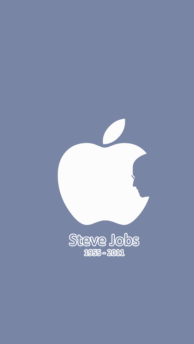 The Iphone Wallpapers Iphone 5 Steve Jobs Apple