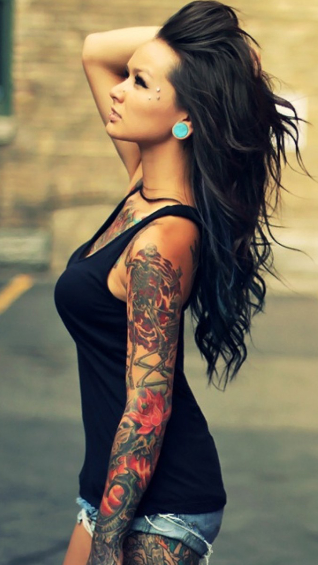 girl tattoos girl tattoos sleeve