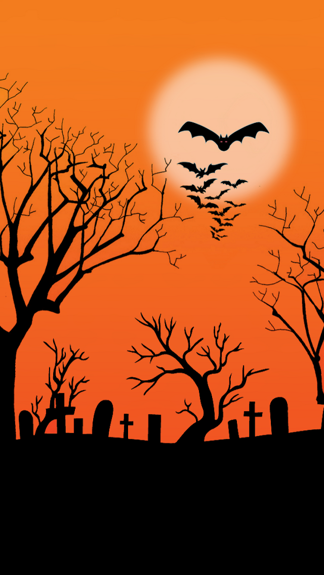 gallery for cool halloween iphone backgrounds