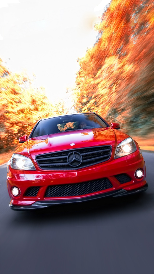 Mercedes Benz C63 Amg The Iphone Wallpapers