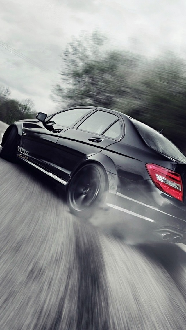Mercedes benz drift the iphone wallpapers for Mercedes benz of music city