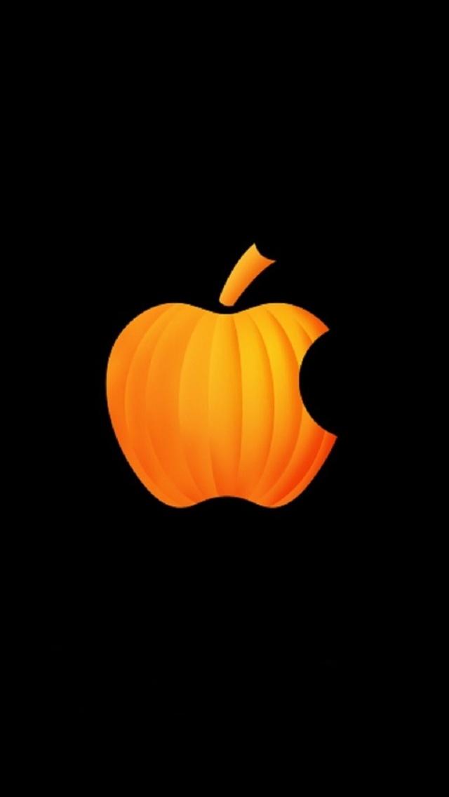 pumpkin apple the iphone wallpapers