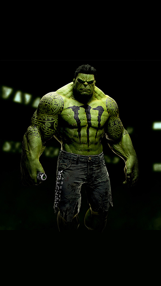 sponsored superheroes hulk the iphone wallpapers