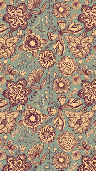 Vintage Pattern The iPhone Wallpapers