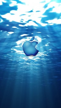 Apple Logo Water