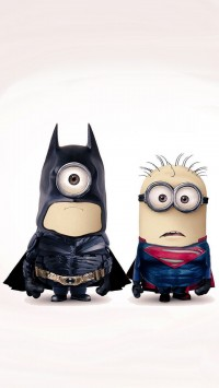 Batman and Superman Minions