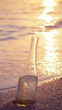 Beach Bottle Water