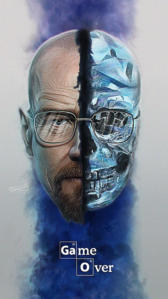 breaking bad game over the iphone wallpapers