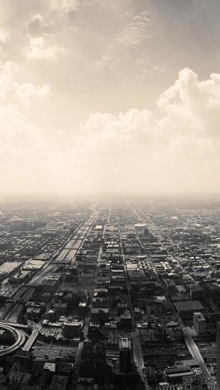 Cloudy Suburbs City