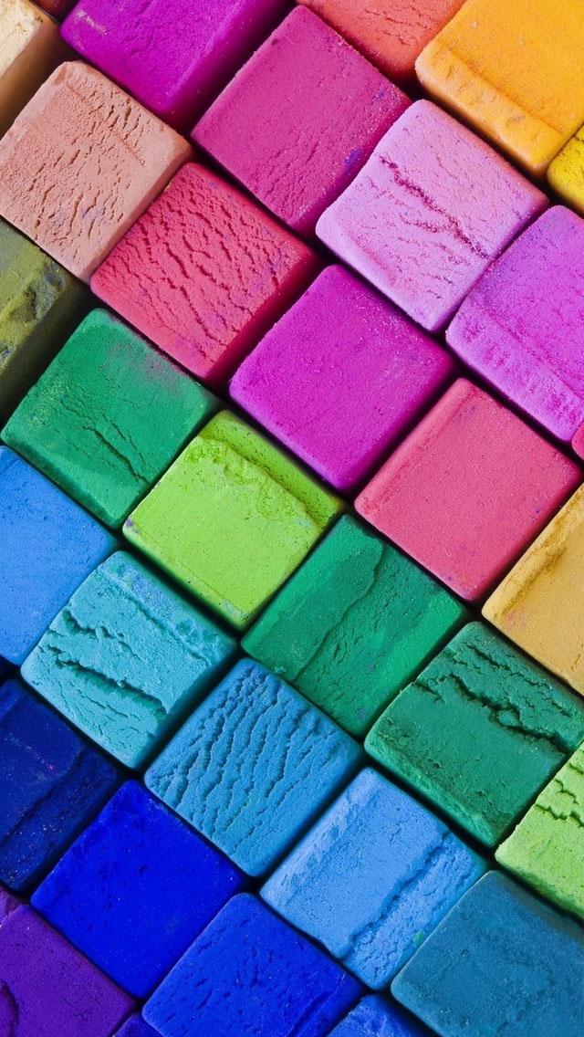 colored blocks wallpaper trololo - photo #23