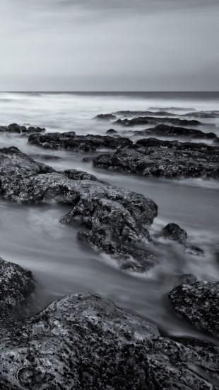 Gray Ocean Stones