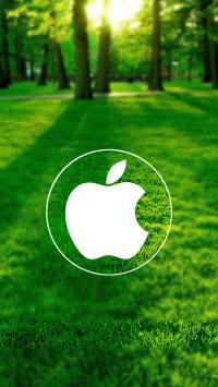 Nature Circle Apple Logo