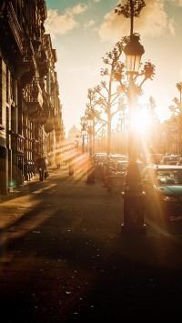 Street Of Sunset