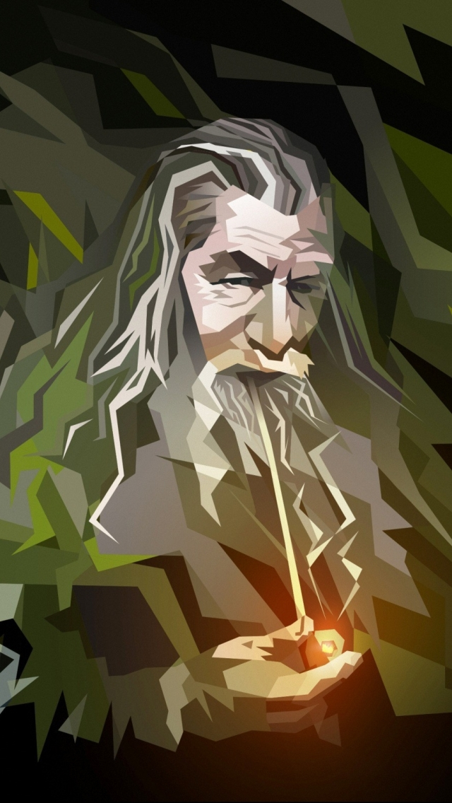 The Hobbit Fantasy Gandalf The Iphone Wallpapers