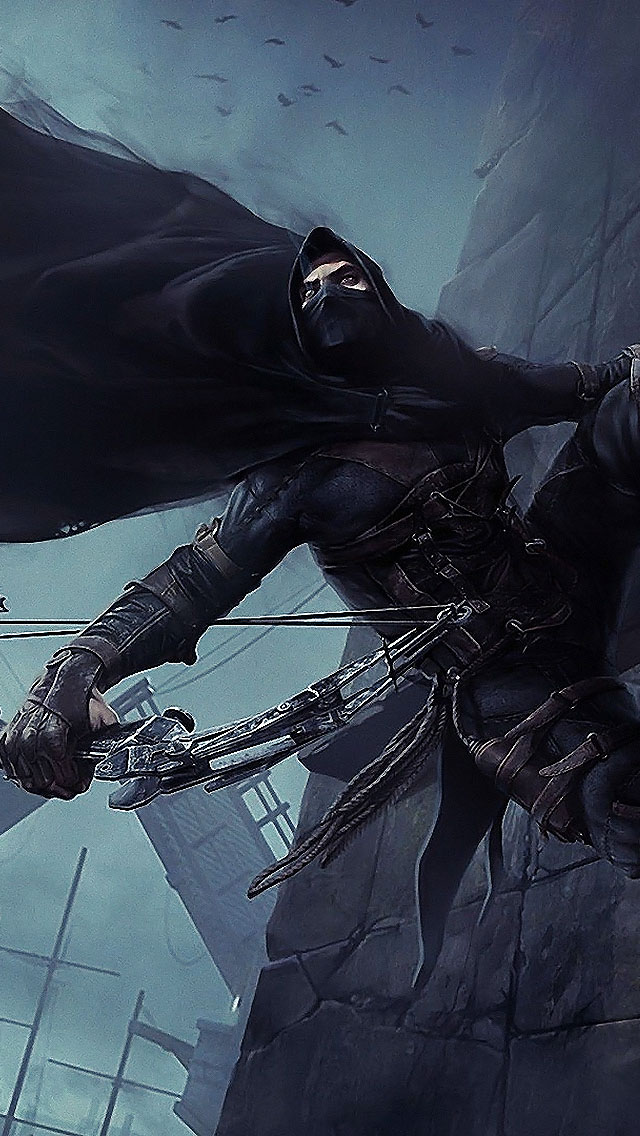 Thief video game 2014 the iphone wallpapers - Iphone wallpapers for gamers ...