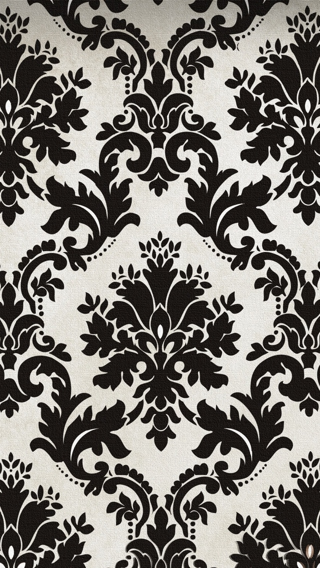 Vintage Black And White Texture - The iPhone Wallpapers
