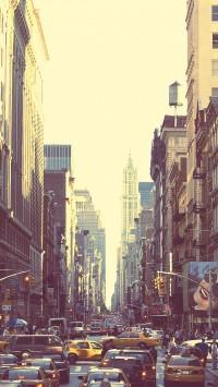 Beautiful streets of New York City