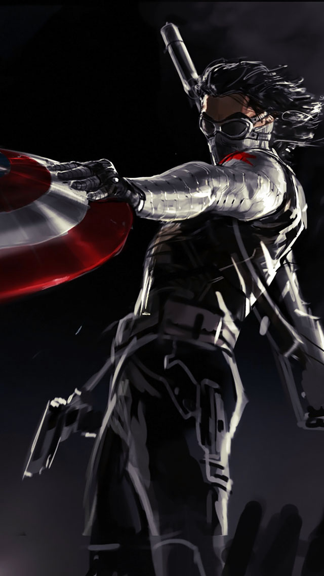 Captain America 2 Winter Soldier - The iPhone Wallpapers