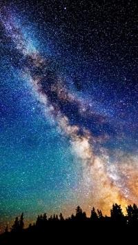 Milky Way Night Sky Stars