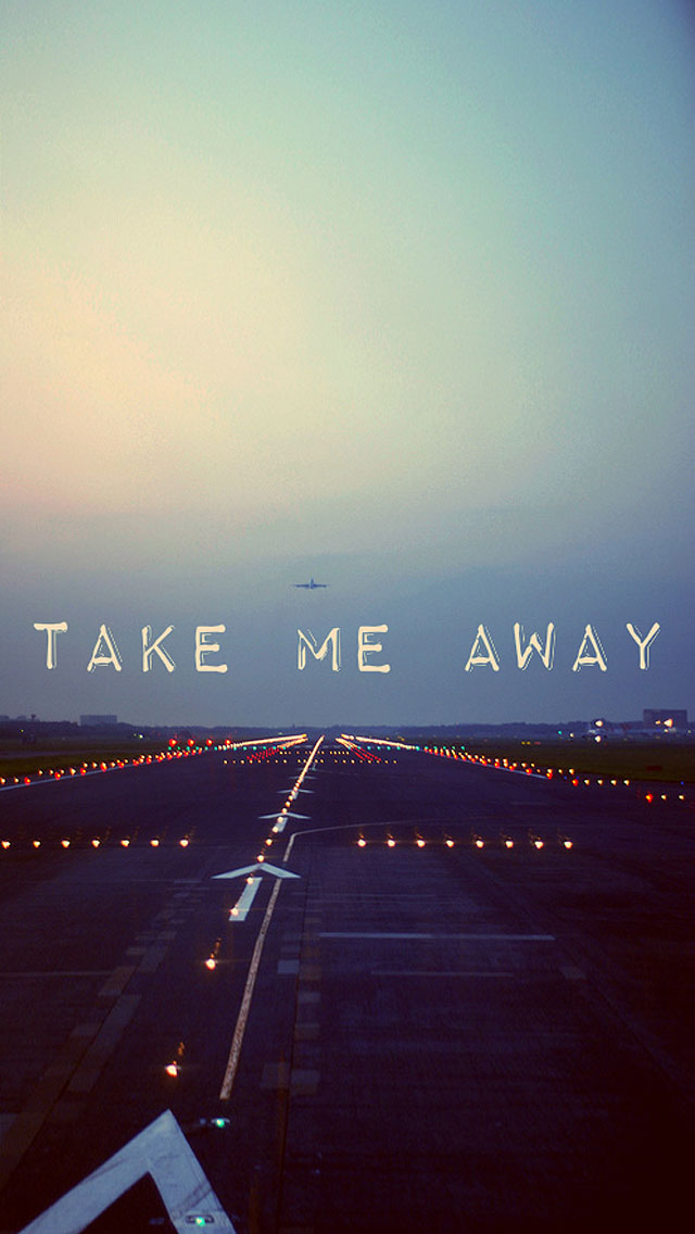 Take Me Away - The iPhone Wallpapers