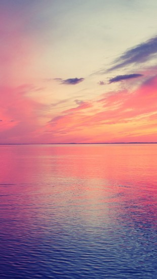 Beautiful Sea Horizon Sunset