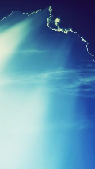 Blue Clouds Landscapes Nature Sunlight