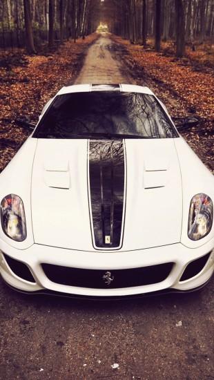 Ferrari 599 GTO White
