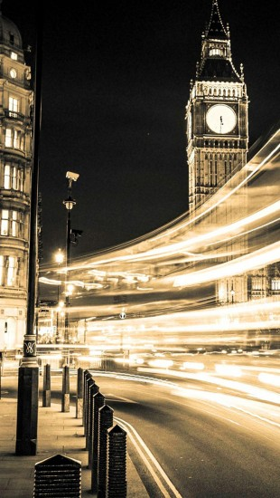 Lighting Big Ben London