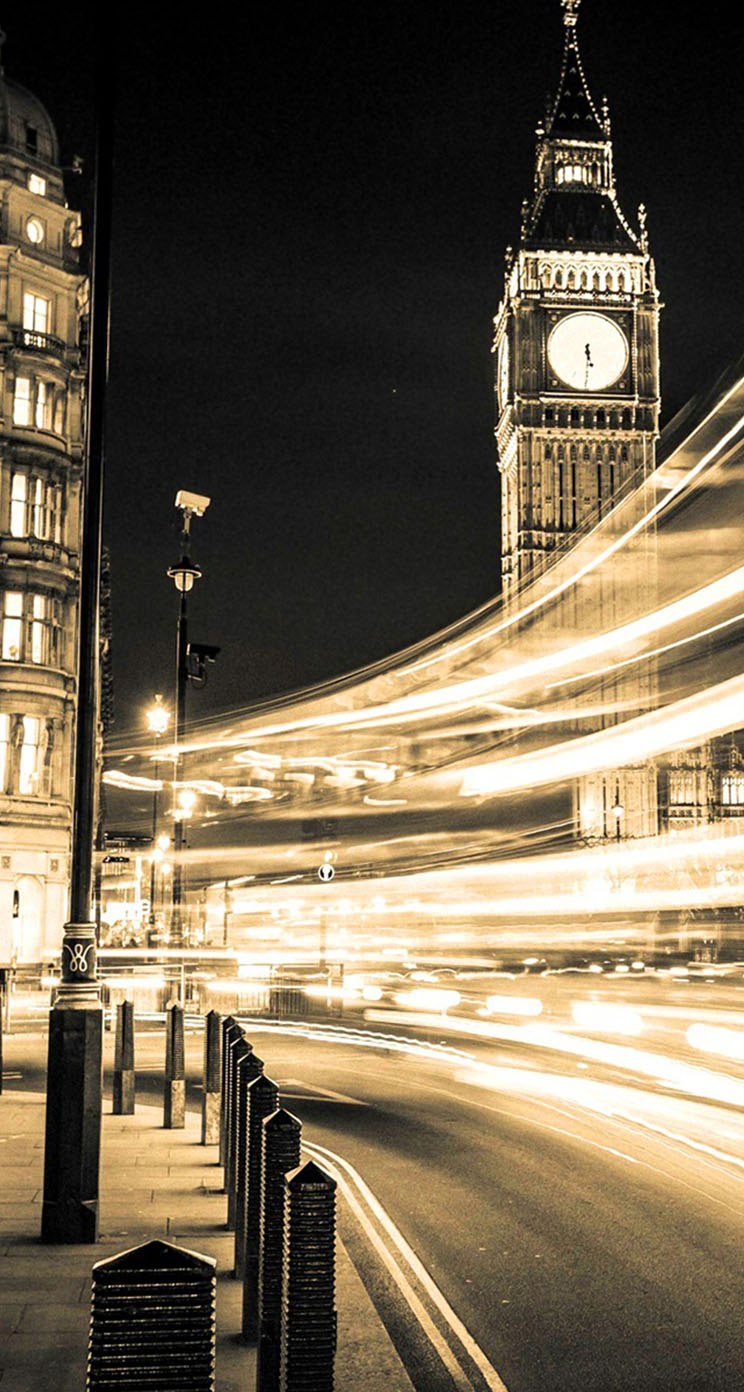 Wallpaper iphone london - Lighting Big Ben London